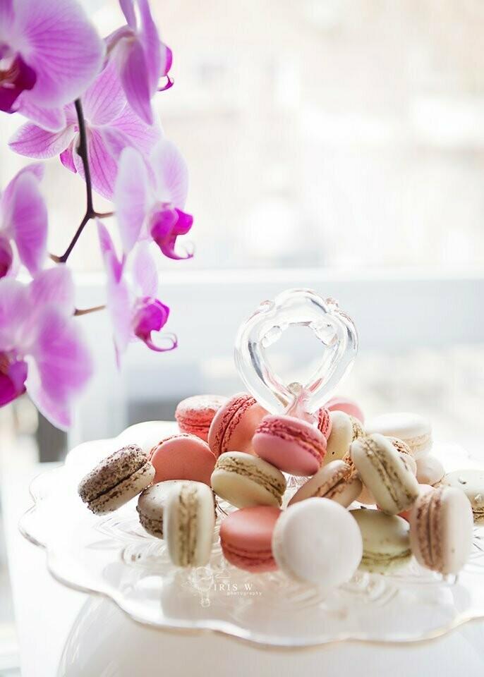 25 Gourmet Sweet Macarons