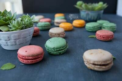 Today's Flavours Box of 15 Gourmet Macarons