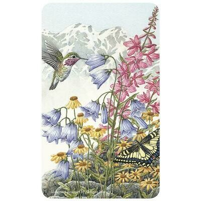 15 pc Hummingbird/Floral Tin of Assorted Chocolates