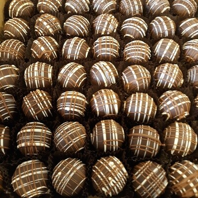 Ruby Port Blended Dark Chocolate Truffles 4pc Box