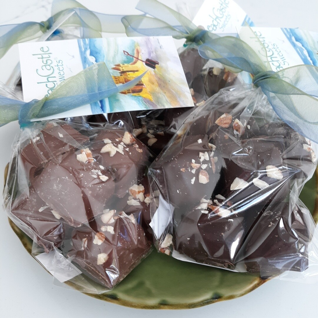 Almond Butter Toffee in Milk Chocolate