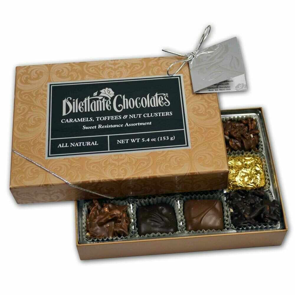 12 PC Milk Chocolate Assorted Confections