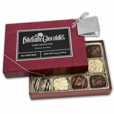 12 PC Aristocrat Assorted Dark Chocolates