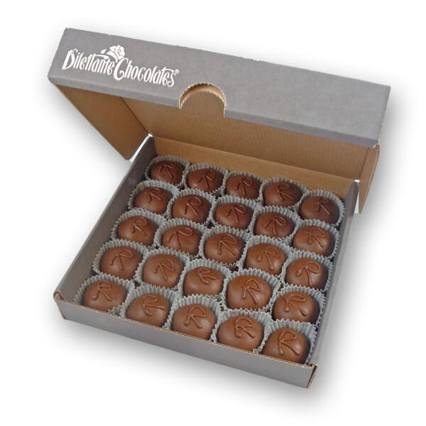 Milk Chocolate Champagne Infused Truffles--6pc Box