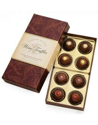 Artisan Crafted Wine Flavored Truffles