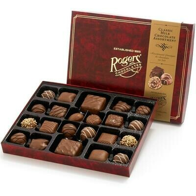 22 Pc Milk Chocolate Assortment by Rogers' Chocolates