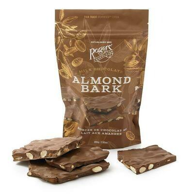 Milk Or Dark Chocolate Almond Bark