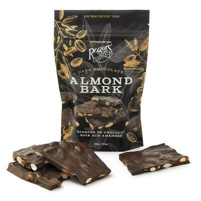 Almond Bark in Dark Chocolate
