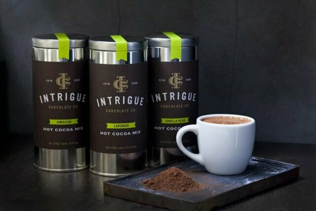 Gourmet Hot Cocoa by Seattle based Intrigue Chocolate