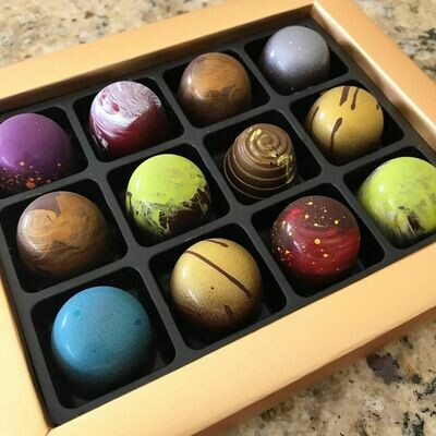 9 Pc Gift Box of Assorted Truffles