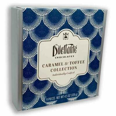 Dilettante Caramels & Toffee Collection in Milk and Dark Chocolate