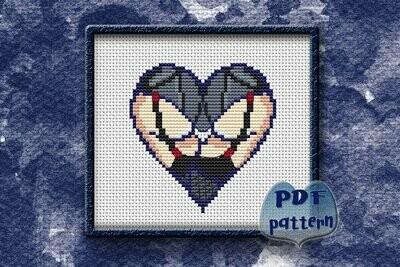 Ass cross stitch pattern PDF, Butts Xstitch