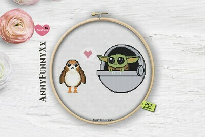 Free cross stitch pattern PDF Star Wars cross stitch pattern
