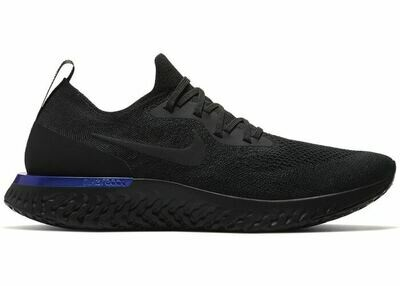 Nike Epic React Flyknit Black Racer Blue