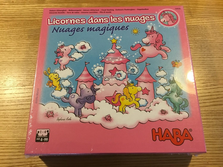 Haba Licorne dans les nuages «Nuages magiques» De 4 à 99 ans