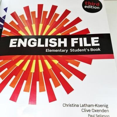 English File ELEMENTARY, 3 издание (учебник + тетрадь)