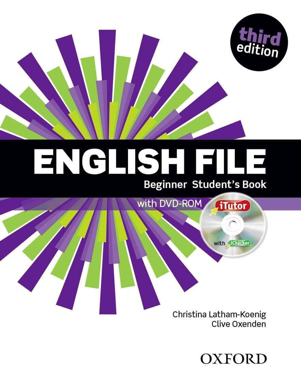 English File BEGINNER, 3 издание (учебник + тетрадь)