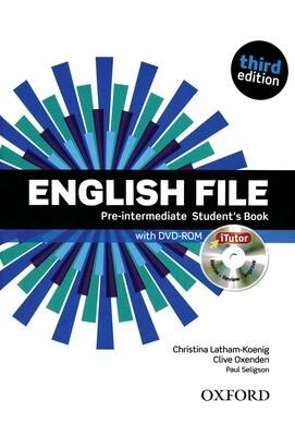 English File PRE-INTERMEDIATE, 3 издание (учебник + тетрадь)