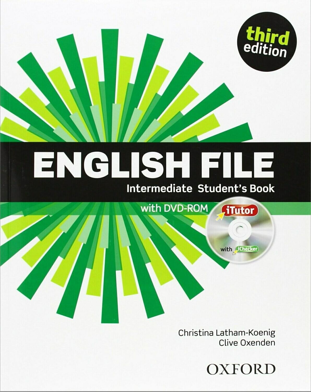 English File INTERMEDIATE, 3 издание (учебник + тетрадь)