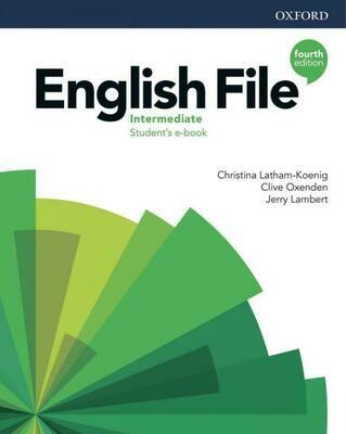 English File INTERMEDIATE, 4ое издание (учебник + тетрадь)