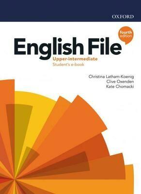 English File UPPER-INTERMEDIATE, 4-ое издание (учебник + тетрадь)