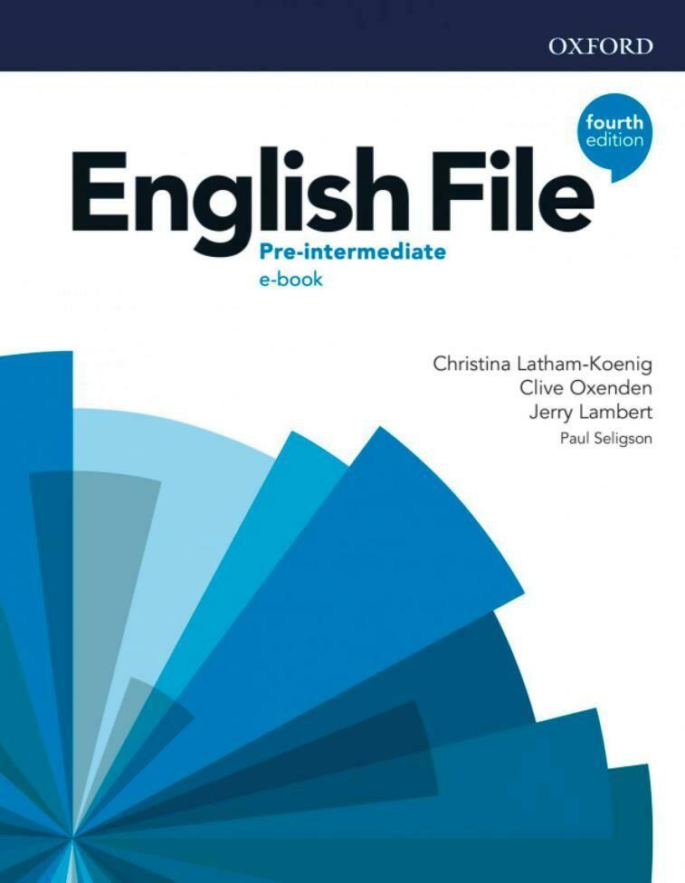 English File PRE-INTERMEDIATE, 4-ое издание (учебник + тетрадь)