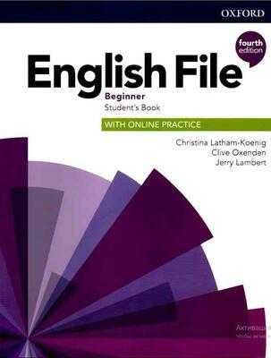 English File BEGINNER, 4-ое издание (учебник + тетрадь)