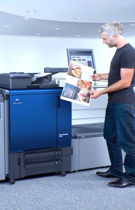Лазерная полноцветная печать в листах SRА3