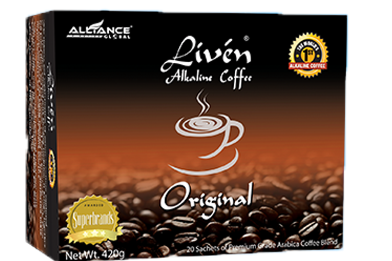 Liven Alkaline Coffee Original