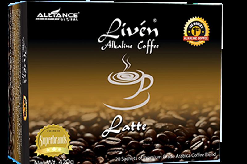Liven Alkaline Coffee Latte