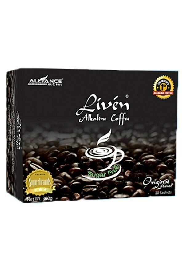 Liven Alkaline Coffee Sugar Free