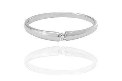 Alice - Glossy - gyémánt eljegyzési gyűrű