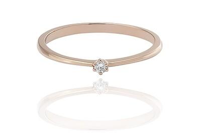 Ilana - gyémánt eljegyzési gyűrű