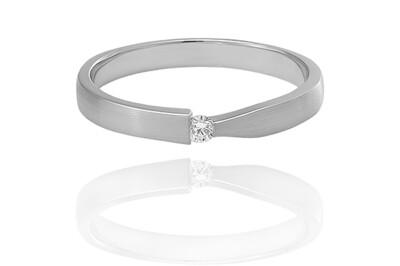 Rhea - gyémánt eljegyzési gyűrű