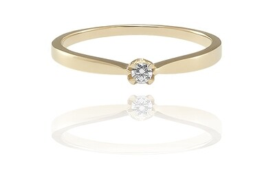 Camille - gyémánt eljegyzési gyűrű