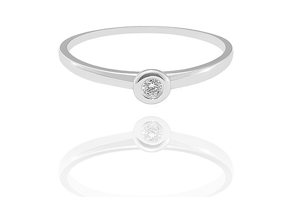 Athena - gyémánt eljegyzési gyűrű