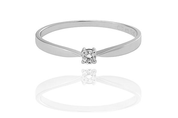 Adeline - gyémánt eljegyzési gyűrű