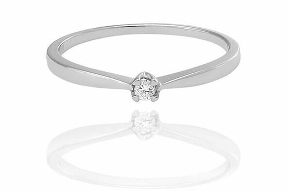 Lyra - gyémánt eljegyzési gyűrű