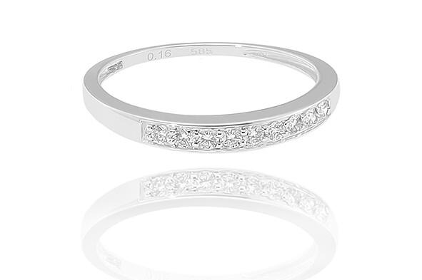 Désiré - White Gold - gyémánt eljegyzési gyűrű
