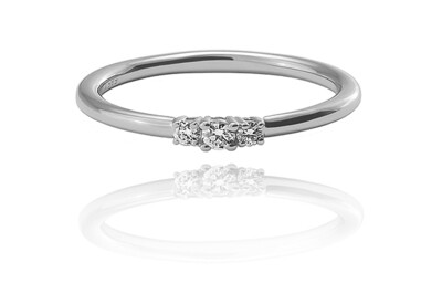 Corinne - gyémánt eljegyzési gyűrű