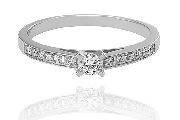Anais - gyémánt eljegyzési gyűrű
