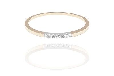 Évangélie - gyémánt eljegyzési gyűrű