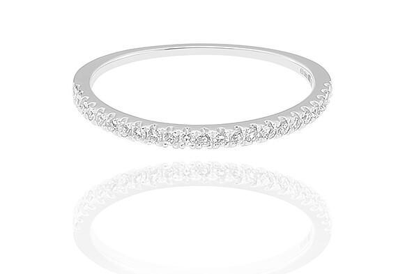 Wysteria - gyémánt eljegyzési gyűrű