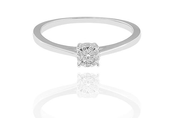 Perissa - gyémánt eljegyzési gyűrű
