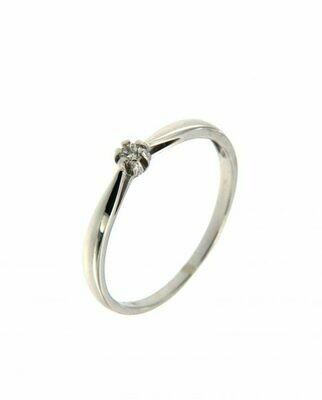 Leona - gyémánt eljegyzési gyűrű