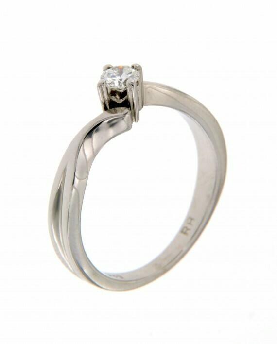 Cairo - gyémánt eljegyzési gyűrű