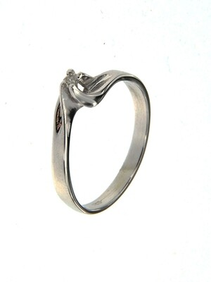 Illusion - gyémánt eljegyzési gyűrű