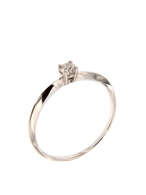 Milano - gyémánt eljegyzési gyűrű