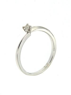 Yvonne - gyémánt eljegyzési gyűrű