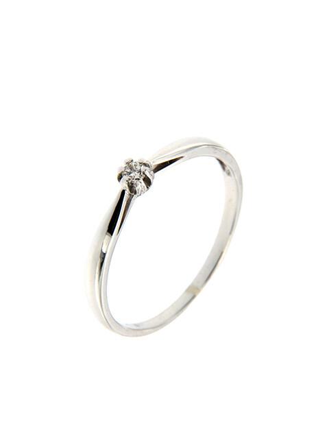 Lyon - gyémánt eljegyzési gyűrű
